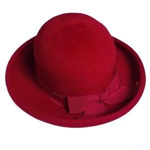 Vtg 60s TNLee Neumann Endler Wool Felt Hat